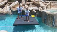EVA FLOATING ISLAND WATER MAT and Workout Mat LG 1000 lbs.