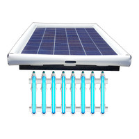 Savior UV Ultraviolet Pool Sanitation Disinfection Systems 250-watt Solar Powered 60,000 Gallon