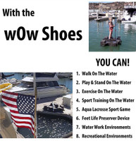 WoW Shoes Lift and Water Traction Kit Attchment