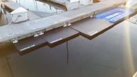Savior Dinghy Boat Lift Dock and Emergacey Float  - Unsinkable - 6 X 4 Feet Long