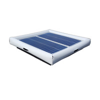 Savior Surface Pool Skimmer Solar Pool Cleaner 60-watts Solar Powered