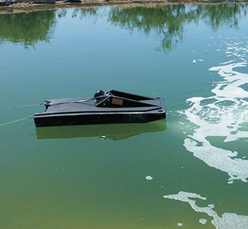 SunRay Water Aerator System Pond Aspirator Aerator and Circulation (without Solar Power)