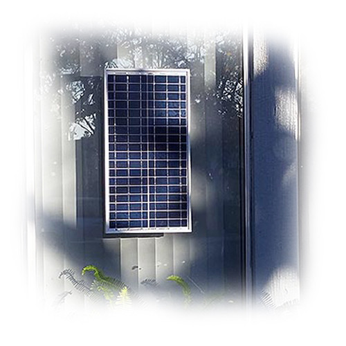Natural Current 35w Solar Hybrid Wireless Power Transmission Station Kit 2