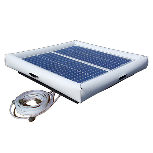 Savior Aerator Pool Spa Pond 60-watt Solar Powered System 24/7