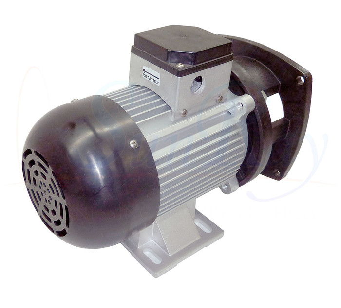 SunRay SolFlo4 Solar Replacement Pump Motor (Only) Solar Pool Pump 115GPM 60FT Head 3.5HP 3000RPM 240VDC Brushless Motor Conversion