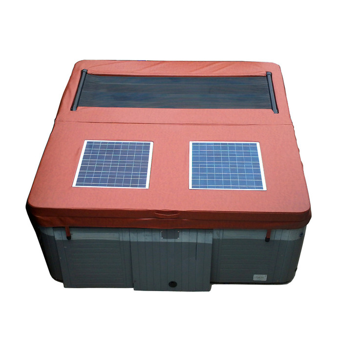 Savior Spa Cover Solar Powered Custom