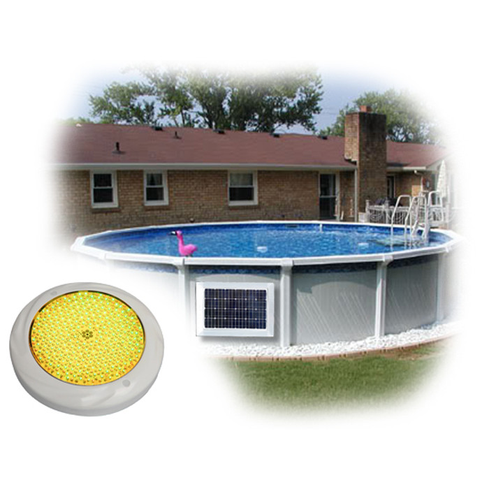 Above Ground Pool Magnet Wireless Power SMD LED Light System 2