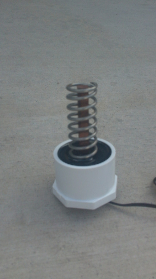 Savior Attachment Solar Powered Ionizer Generator Attachment