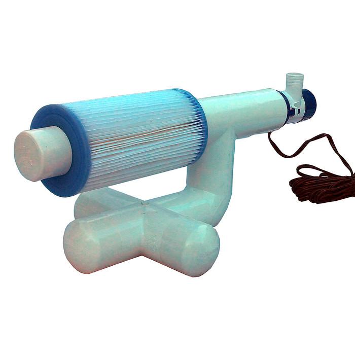 Bottom Feeder 5000 Gallon Pool or Spa 110v Plugin Pump Type A Filter Cartridge System