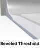 Includes Beveled Threshold