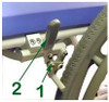 Rear Wheel Locks