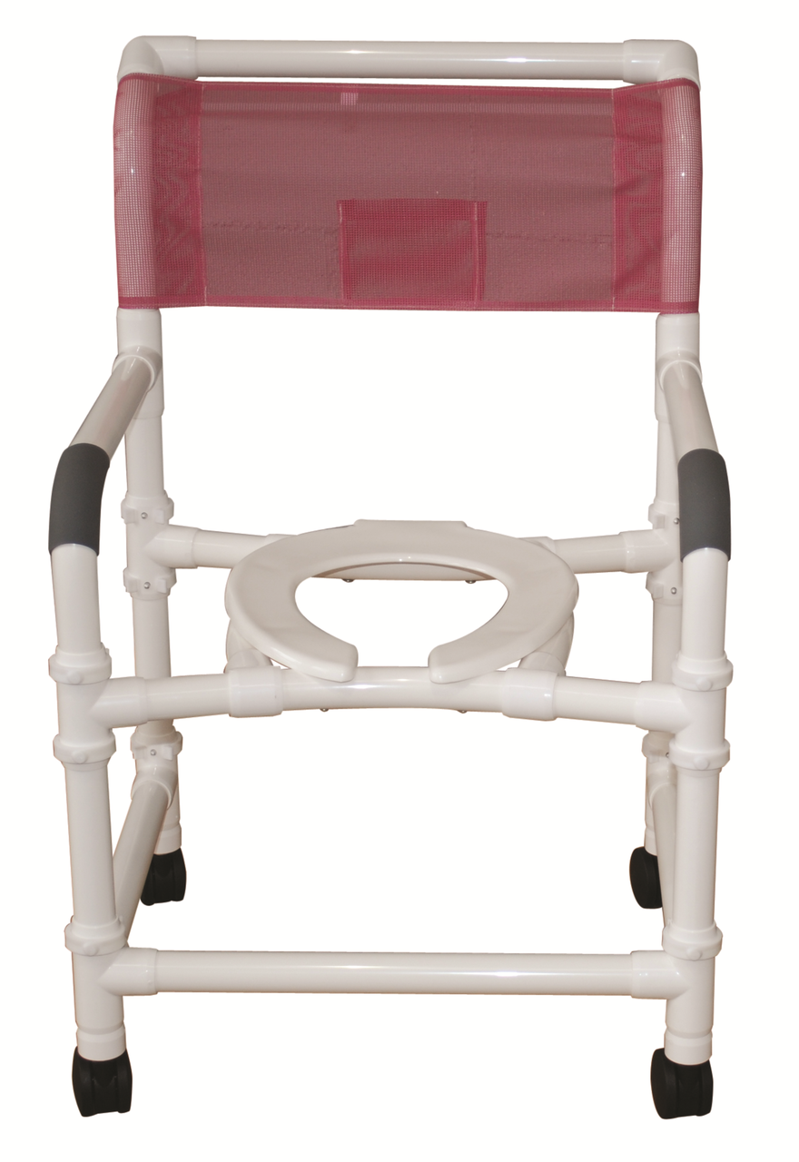 Rolling Shower Chair - Extra Wide - With Optional Travel Bag - CareProdx