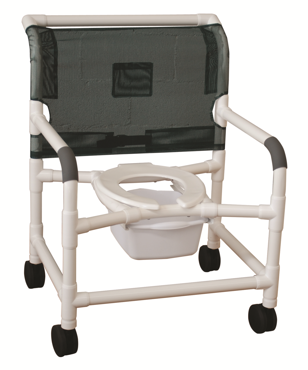 Rolling Shower Chair Super Wide Heavy Duty - CareProdx