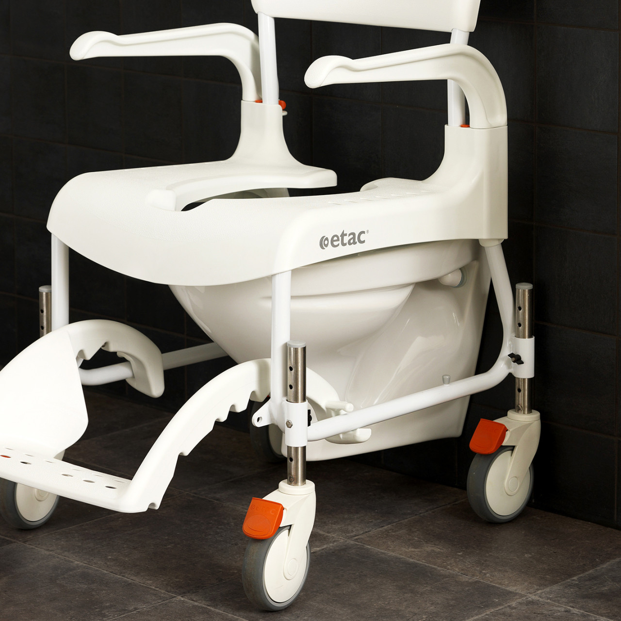 Adjustable Height Clean Shower Chair - CareProdx