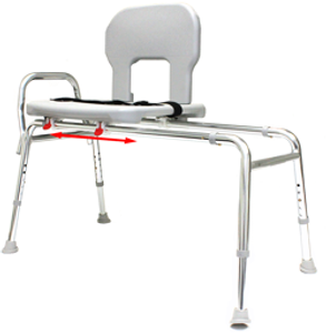 Bariatric Sliding Transfer Benches