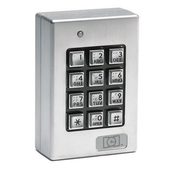 Weather-Resistant Surface Mont Wired Key Pad