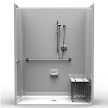 Multi-Piece ADA Shower