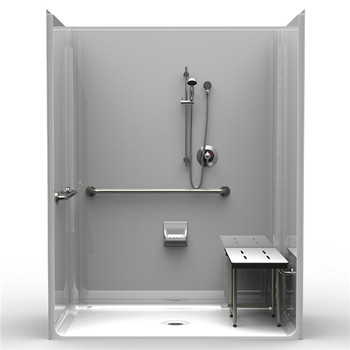 ADA Accessible Shower 4LSS6337A75B