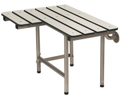 Phenolic L Shape Shower Bench