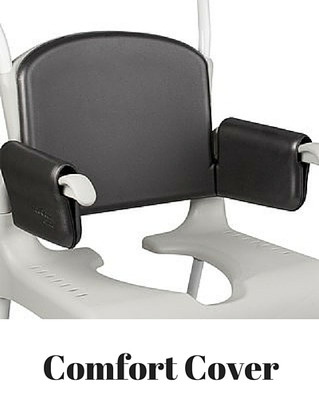 Comfort Back & Arms Cover For ETAC Clean Rolling Shower Chair