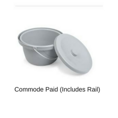 Commode Pail for Shower Wheelchair by ETAC