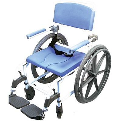 Ezee Shower Commode Wheelchair Wide Model