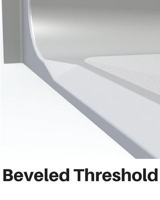 Barrier Free Shower Beveled Threshold