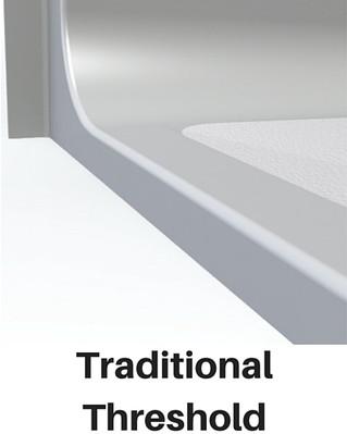 ADA Shower Traditional Threshold