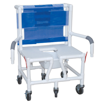 600 lb. Shower Commode Chair - CareProdx