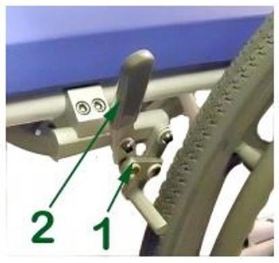 Rear  wheel brakes