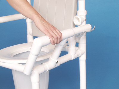 Left Drop Arm For IPU Shower And Commode Chairs