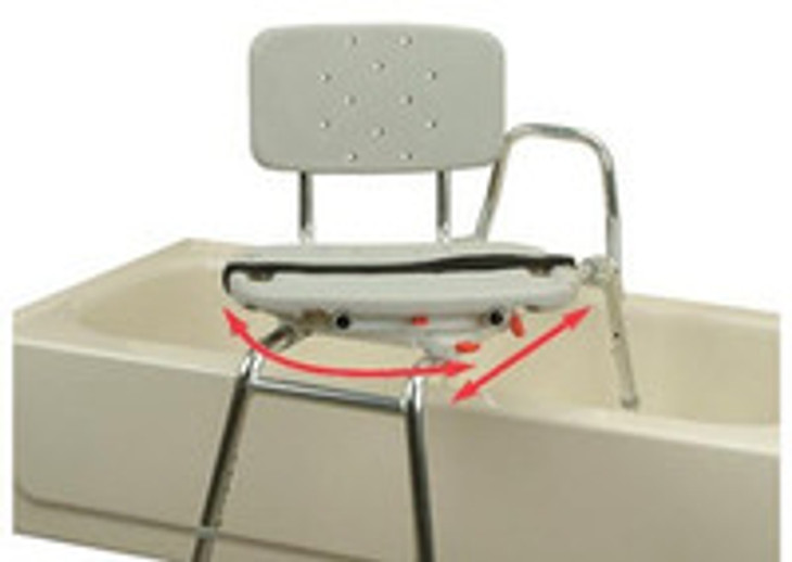 Getting In & Out of the Bathtub: Benches, Lifts, and Transfer Chairs