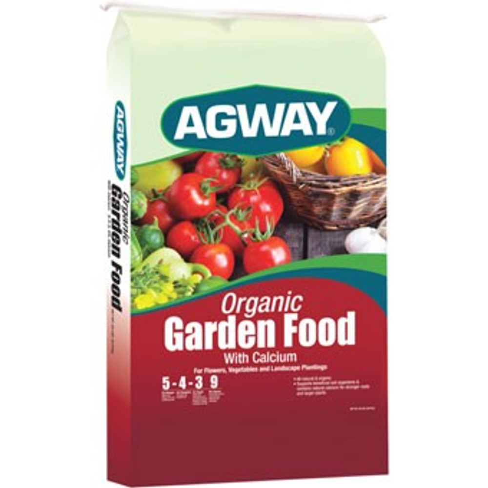 Agway Organic Fertilizer 5-4-3   20 Lb Bag