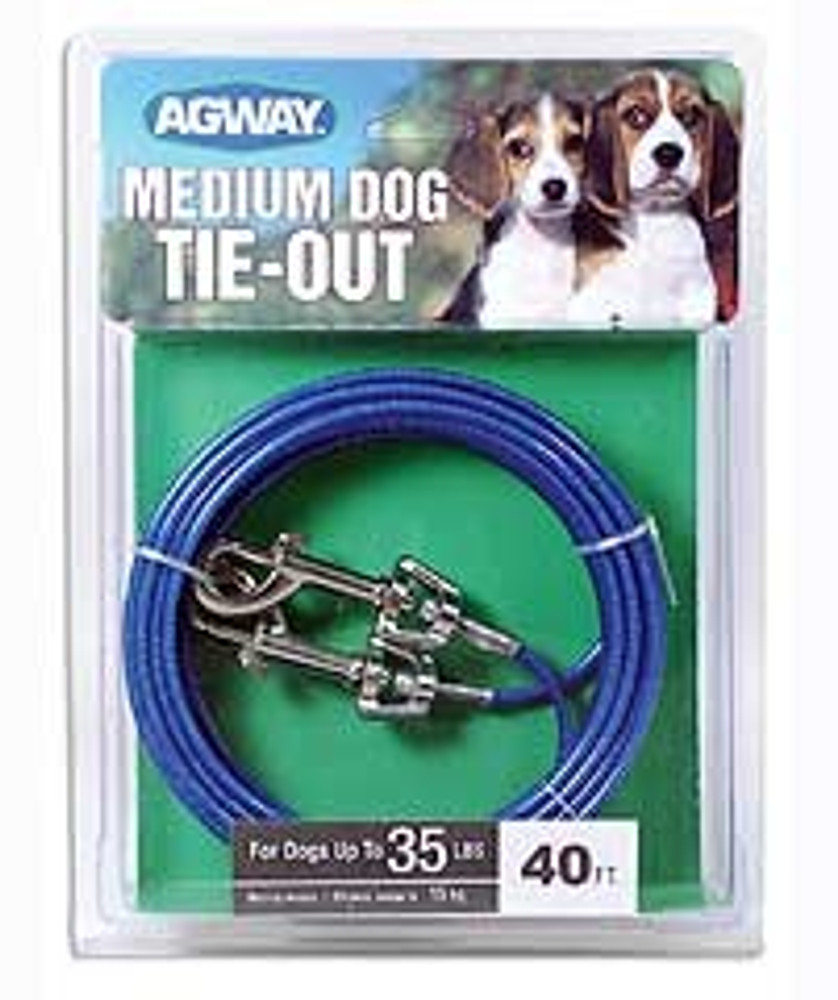 Dog Tie Out 40' Medium Duty