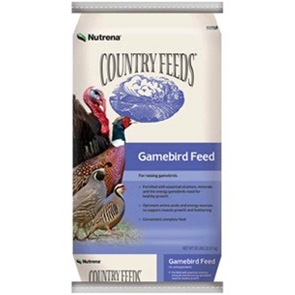 Country Feeds Gamebird Crumble, 50 Lb