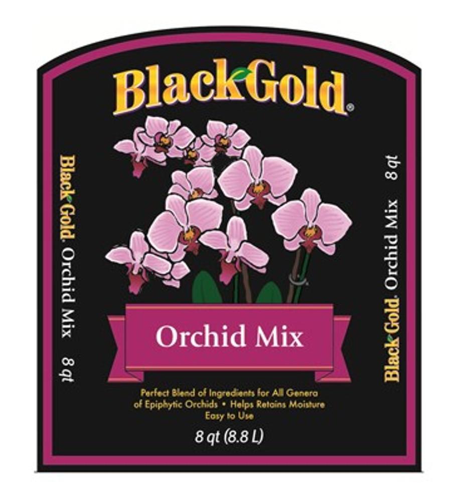 Black Gold Orchid Mix  8 Qt