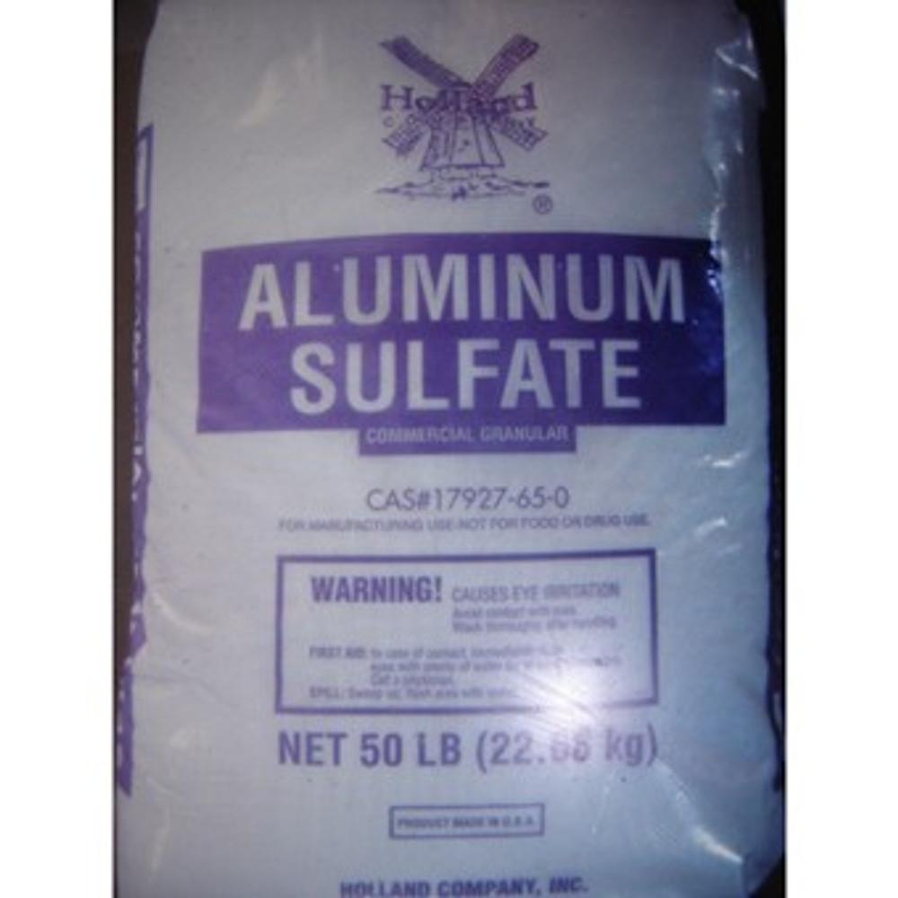 Aluminum Sulfate Fertilizer, 50 Lb