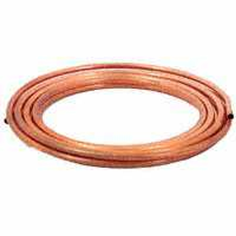 "Copper Tubing, 1/4"" x 10', Soft"