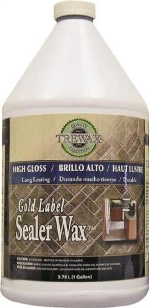 Trewax Floor Wax, 1 Gallon, High Gloss