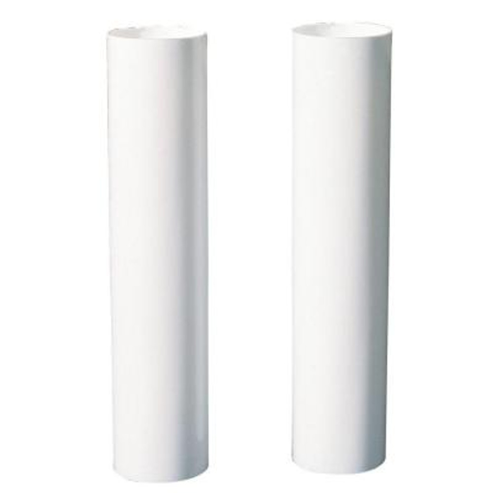 """Candelabra Lamp Socket, White, Sleeve, 4"""""""