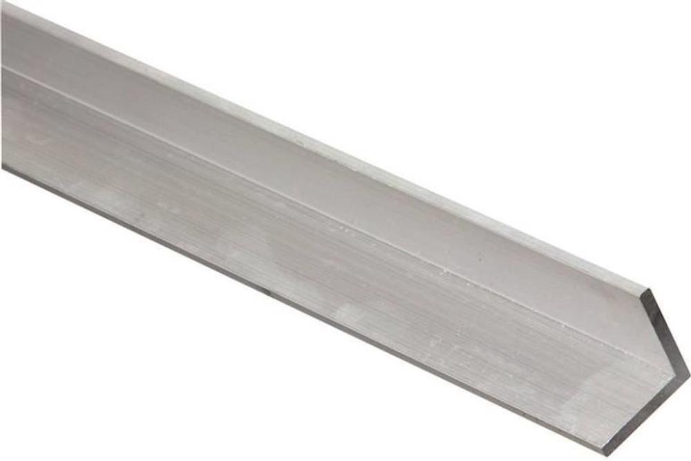 """Aluminum Angle, 1-1/2"""" x 1/8"""" x 48"""", Mill Finish"""