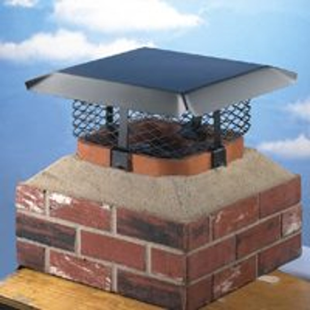 "Chimney Cap, Adjustable, 3/4"" Mesh"