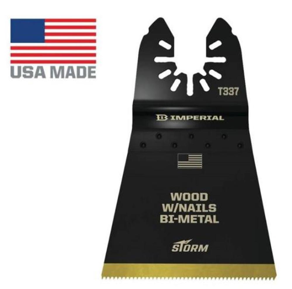 "Oscillating Blade, B-Metal, 1-5/8"", 18 TPI"