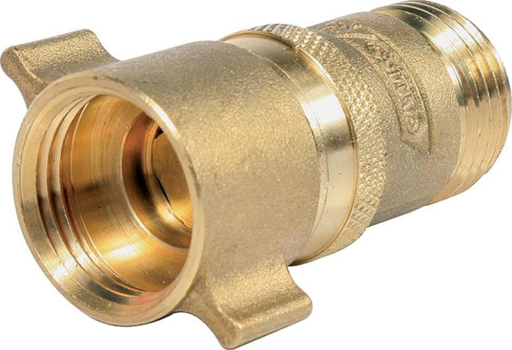 "RV Water Pressure Regulator, 40-50 PSI, 3/4"" Inlet, 1"" Outlet, Brass"