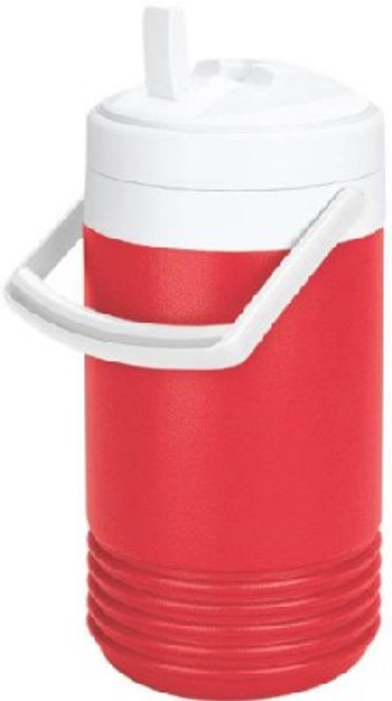 Water Jug With Spout, 1 Gallon, Red