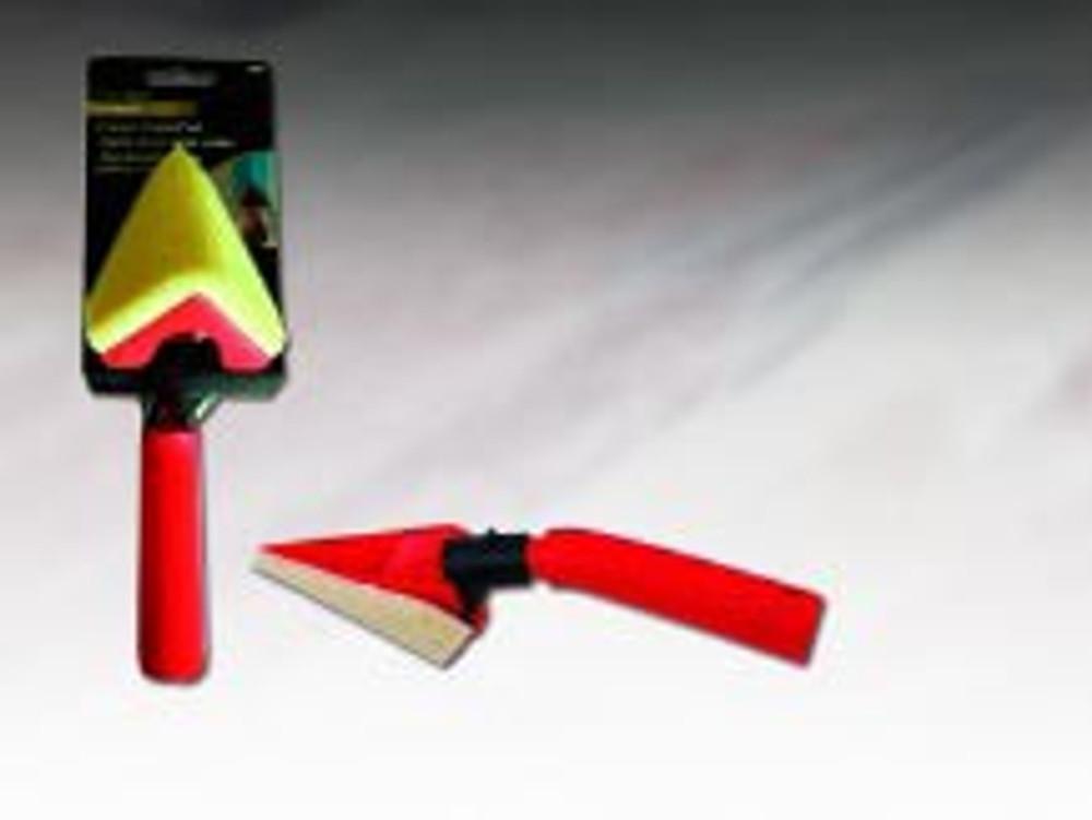 Corner Foam Paint Applicator, Hand Held/Pole Socket