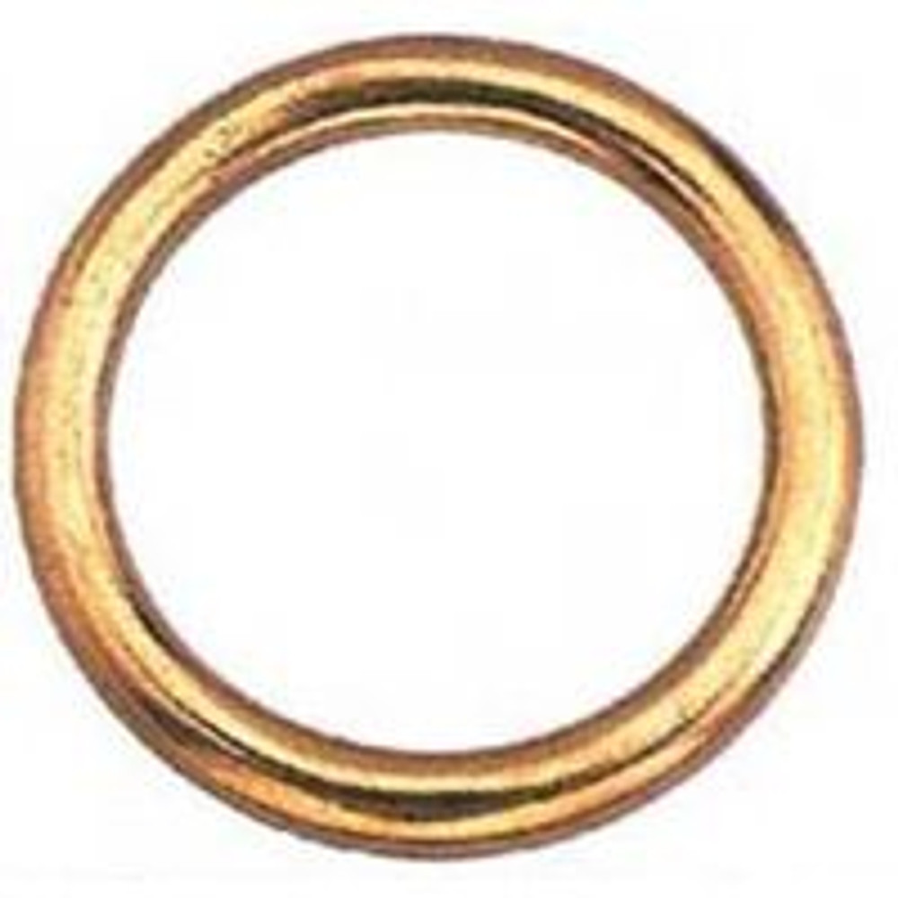 Welded Ring, Bronze, 2""