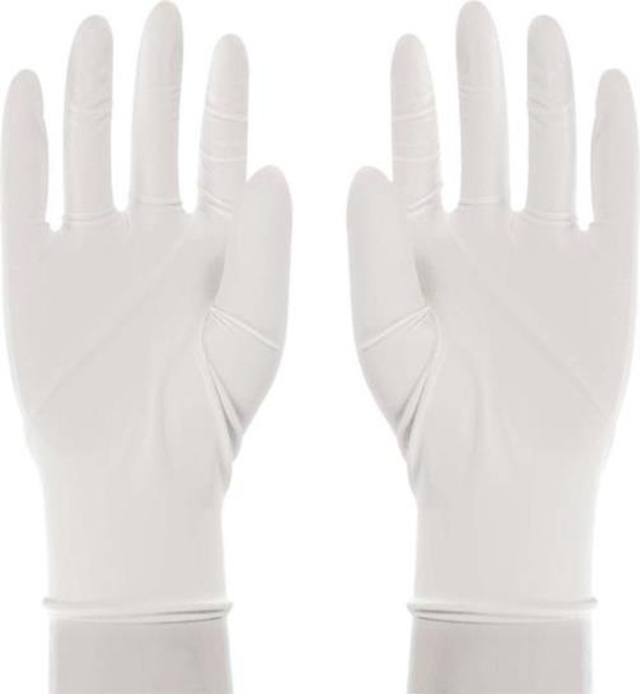 Gloves, Latex, Lightly Powdered, Small, 5 Mil, 100 Pack