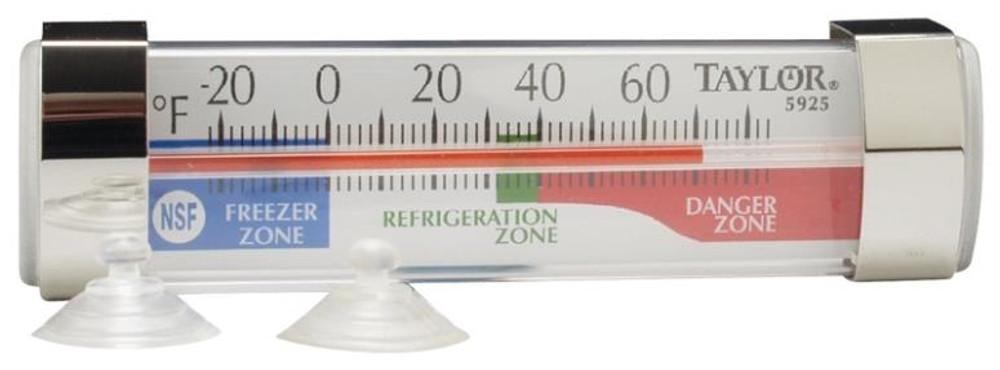 Thermometer, Refrigerator/Freezer, -20 - 80 Deg F