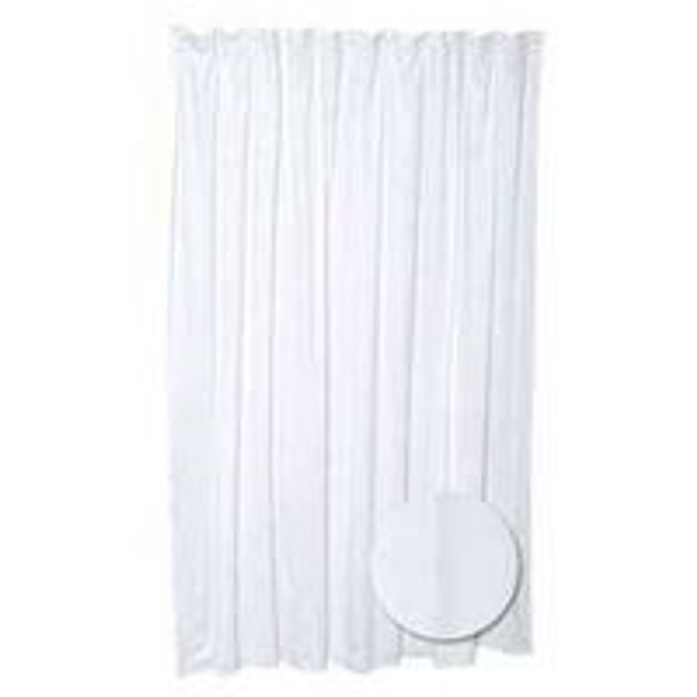 "Shower Curtain/Liner, 70"" x 72"", Polyester"